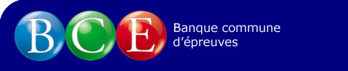 Concours BCE 2009